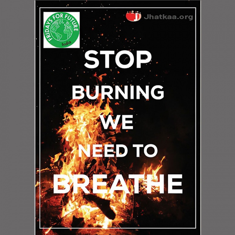 We continued working on the issue of garbage burning and collaborated with Friday for Future to raise awareness about the issue.
