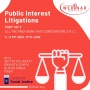 Public Interest Litigation: Building the Groundwork